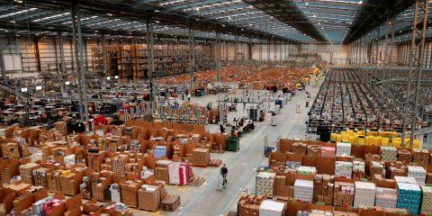 Amazon оголошує серйозний набір сезонних працівників у Польщі