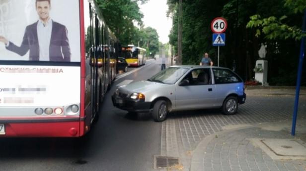 porushnyka zatrymav vodij avtobusa