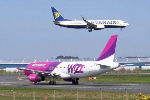 У Wizz Аіг допустили зниження цін через вихід на український ринок Ryanair