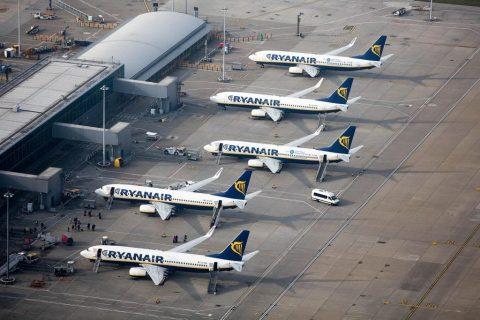 Ryanair розширює географію перельотів між Польщею і Україною