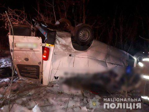 П'ятеро загиблих, ще одна особа в реанімації. По дорозі з Варшави розбився мікроавтобус з українцями (Фото)