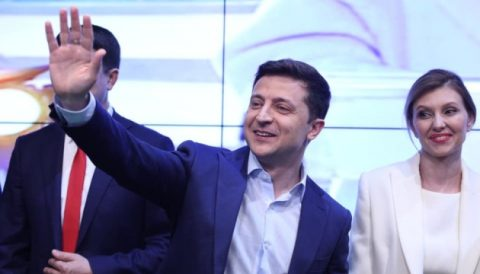 ЦВК оголосила про перемогу Зеленського на виборах Президента