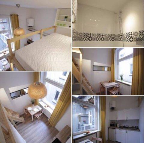"""Кімнатка в десяток """"квадратів"""" із ліжком під стелею за місячну зарплатню. На оренду житла пік сезону"""