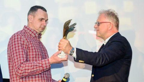 Сенцов отримав нагороду Польської кіноакадемії – за відвагу і незламність