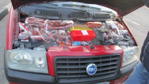 Українські охоронці кордону звітують про перехоплені смаколики (Фото)