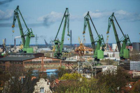 Майже всі іноземці на верфі в Гданську працювали нелегально