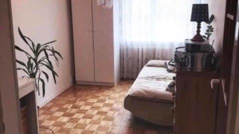 pokój w trzypokojowym mieszkaniu Od lutego