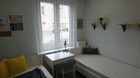 Pokój w centrum Gdańska na ulicy Kartuskiej.