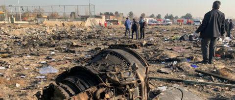 Іран визнав, що «помилково» збив український  пасажирський літак