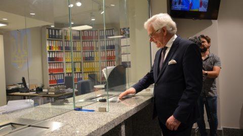 У Варшаві відкрито нове сучасне приміщення Посольства України в Польщі
