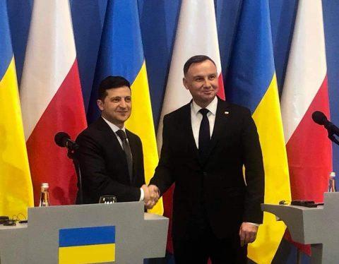 Президент Анджей Дуда та його дружина прибули в Україну з триденним візитом.