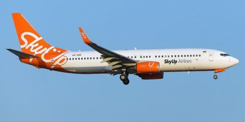 Український лоукостер SkyUp заходить до Польщі. Розклад польотів та ціни вас здивують.